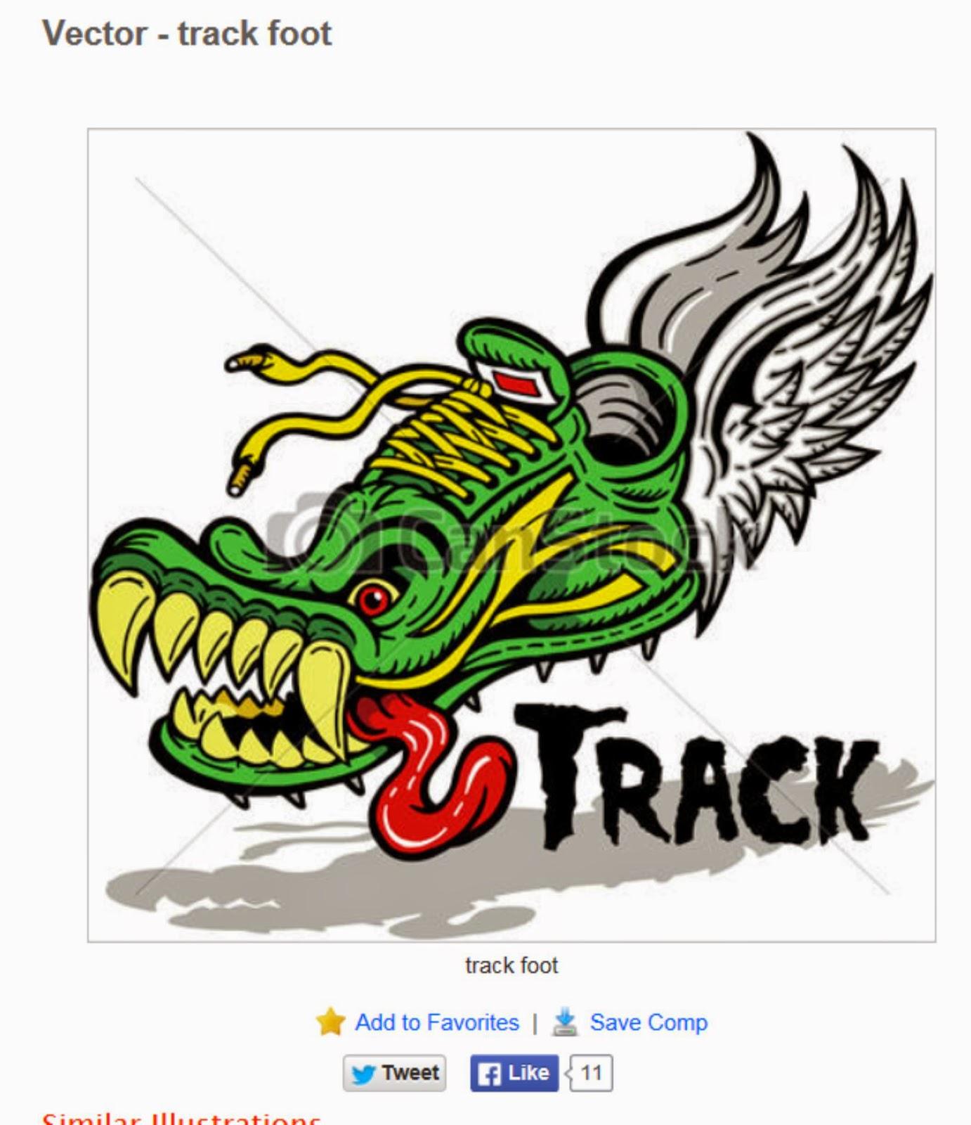 1382x1600 Earlfergusonstudio Track Foot Clip Art