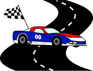 300x230 Race Car Track Clip Art Image Clipart Panda