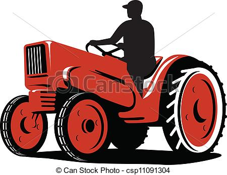 450x348 Driving Tractor Clipart