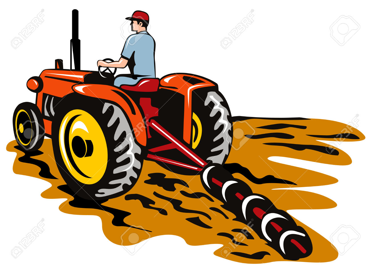 1300x957 Tractor Clipart Baby John