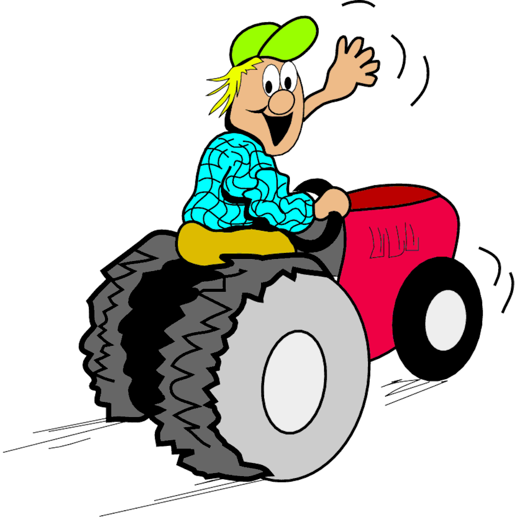 1024x1024 Tractor Clipart Images Cartoon Pictures