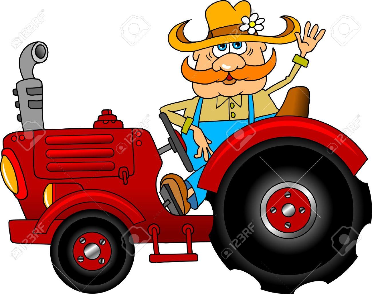 1300x1026 Cartoon Pictures Of Tractors Collection