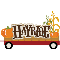 200x200 Collection Of Fall Hayride Clipart High Quality, Free