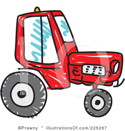 400x420 Case Ih Tractor Clipart