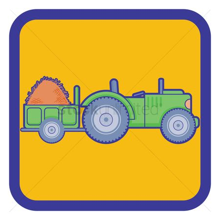 450x450 Free Tractor Trailer Stock Vectors Stockunlimited