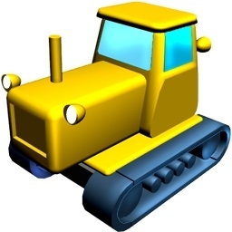 256x256 Free Clip Art Tractor Trailer Free Icon Download (79 Free Icon