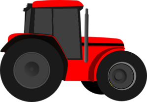 299x207 International Tractor Clipart