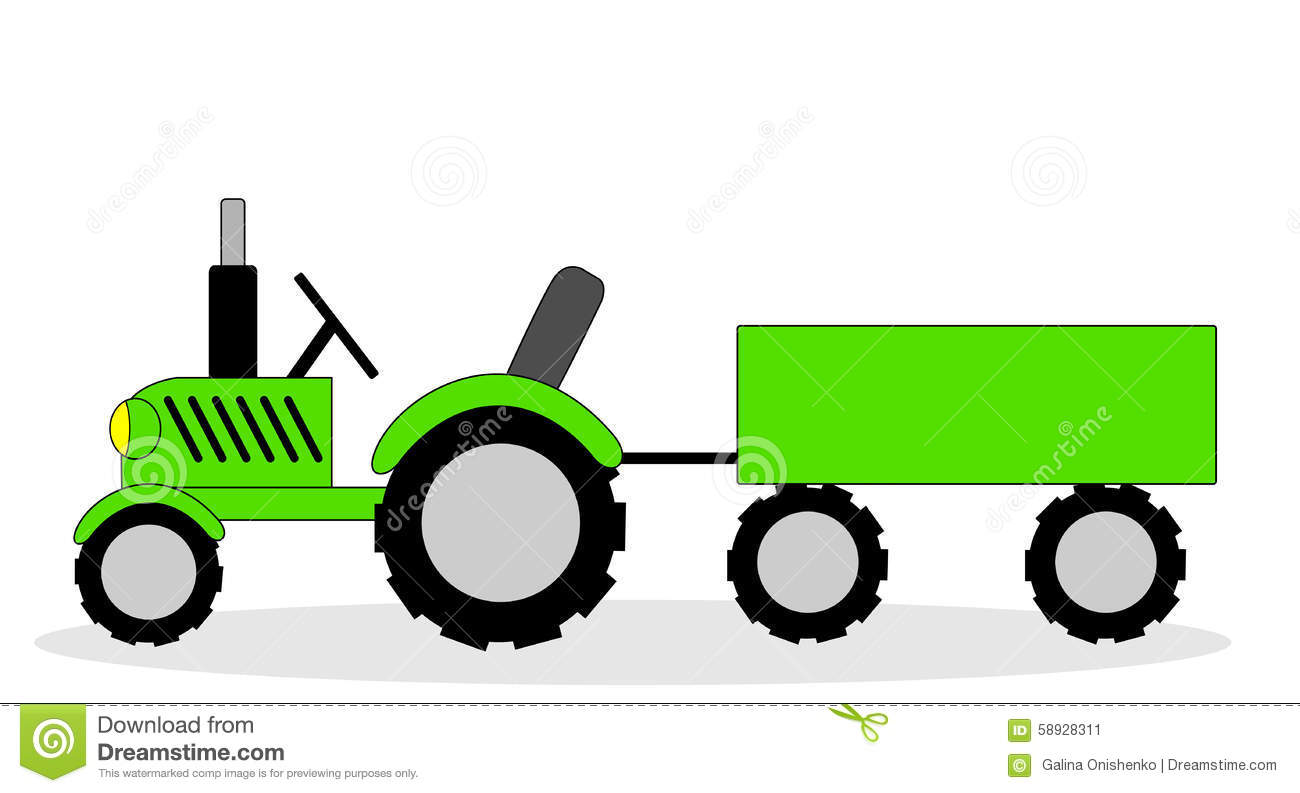 1300x793 Collection Of Tractor With Trolley Clipart High Quality