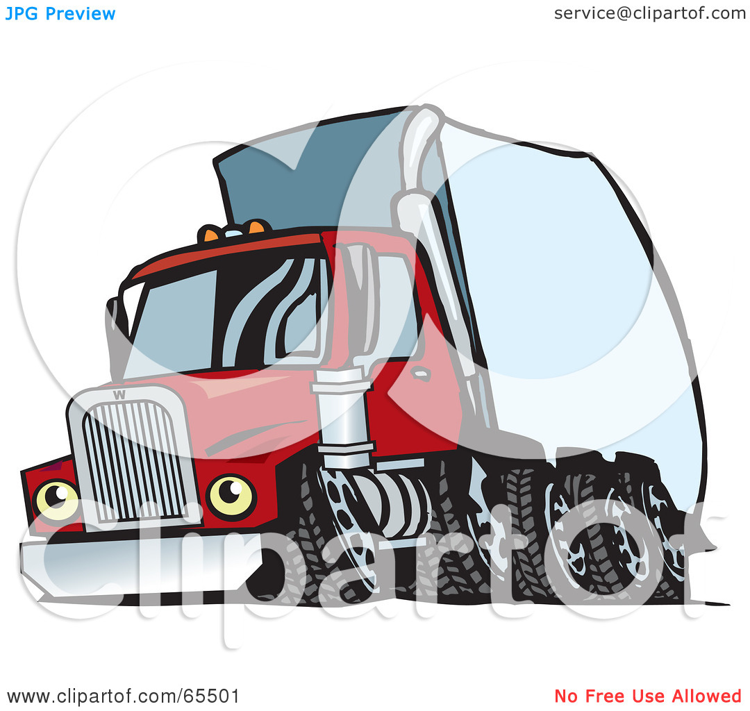 1080x1024 Semi Truck Clipart Black And White Clipart Panda