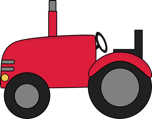 500x390 Farm Tractor Clipart Group