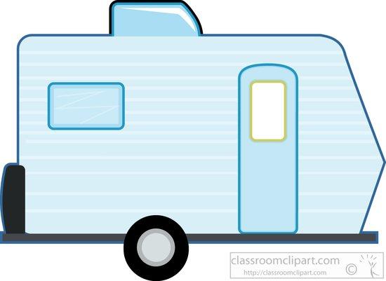 550x401 Recreational Vehicle Clipart Clipart Caravan Camper Trailer