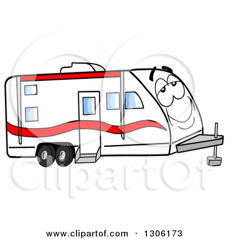 450x470 Royalty Free (Rf) Trailer Clipart, Illustrations, Vector Graphics