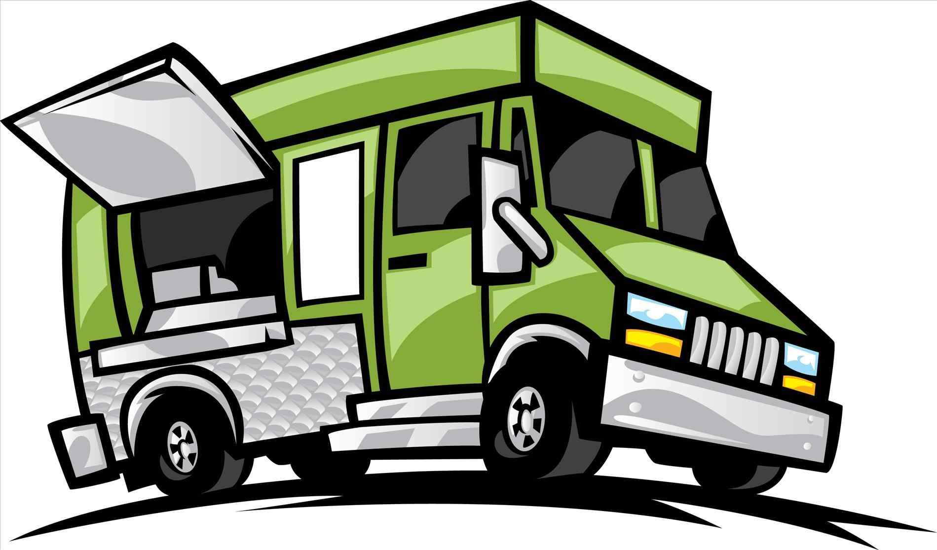 1899x1115 Images Collection Of Color S S S Food Truck Clipart S