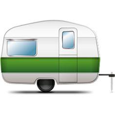 236x236 Trailer Camper Clipart