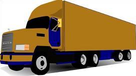 271x152 Free Semi Trailer Truck Clipart