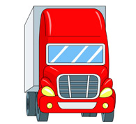 195x177 Free Truck Clipart