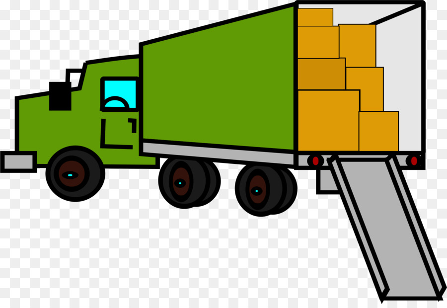 900x620 Mover Truck Van Clip Art