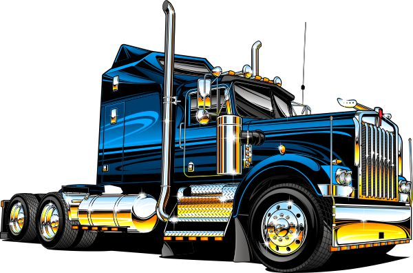 600x396 Semi Truck Alot Of People Like This Design That Got Printed