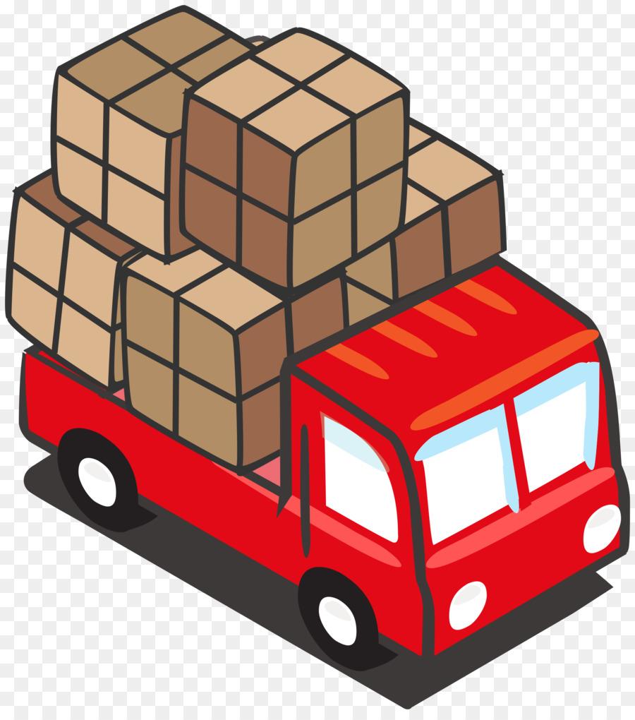 900x1020 Cargo Semi Trailer Truck Clip Art