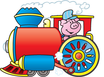350x260 Image Of Caboose Clipart