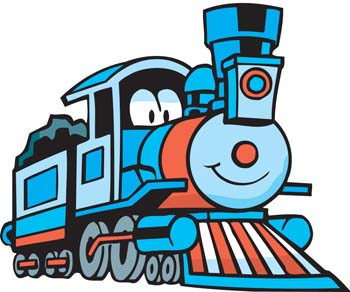 350x292 Thomas The Tank Engine Clipart Blue Train
