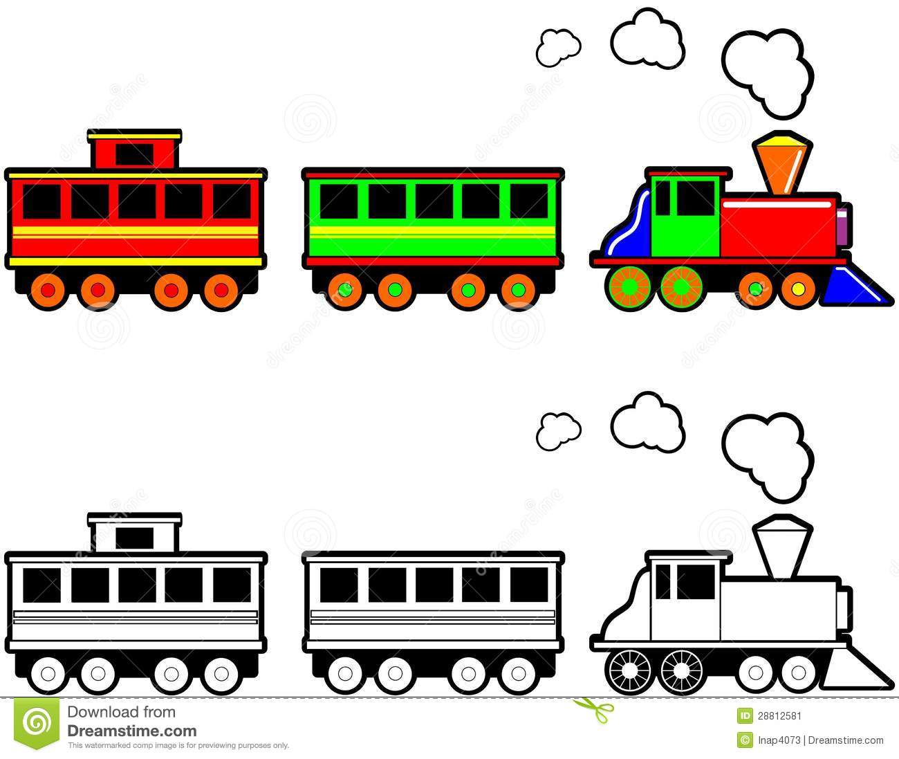 Train Caboose Clipart at GetDrawings | Free download