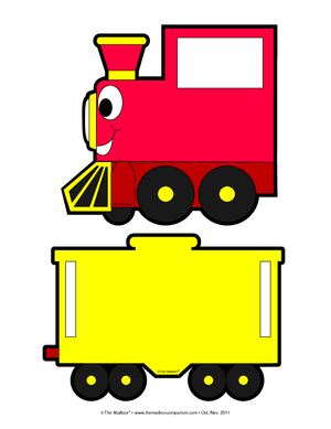 300x389 Train Engine And Caboose Clipart Clipart Panda