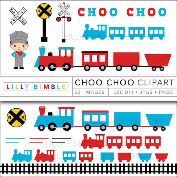 600x600 Train Clipart With Conductor, Locomotive, Caboose, Cute Boy