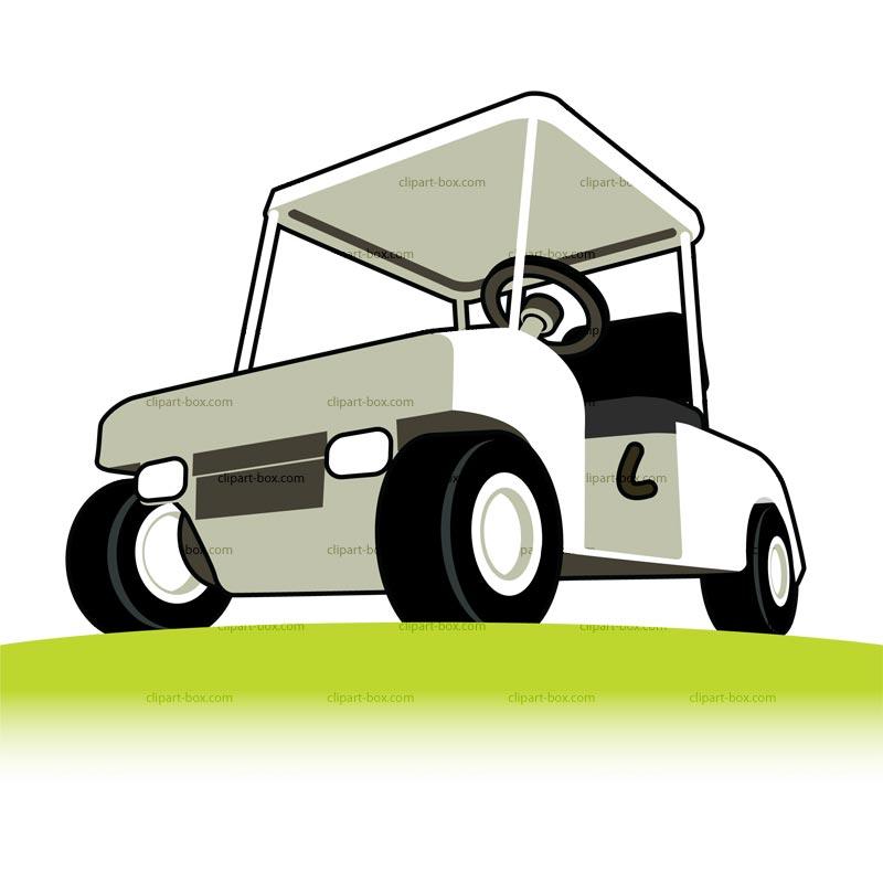 800x800 Golf Car Clipart