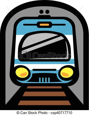 364x470 Light Rail Clipart