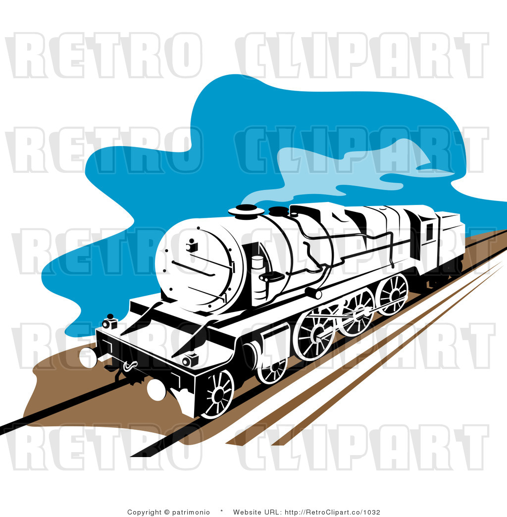 1024x1044 Perspective Train Track Clipart