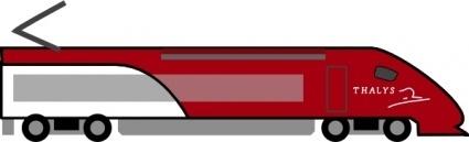 425x129 Train Passenger Car Clip Art