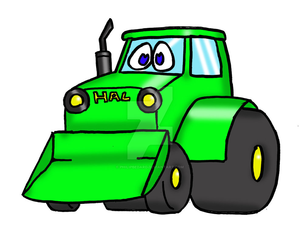 987x810 Tractor Clip Art Images Black