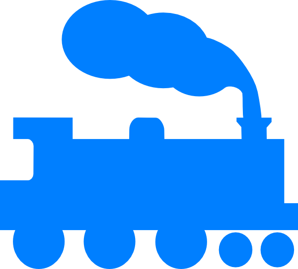 600x540 Collection Of Blue Train Clipart High Quality, Free Cliparts