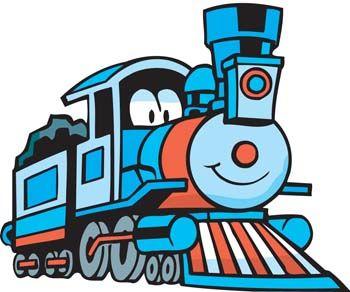 350x292 Beautiful Cartoon Train