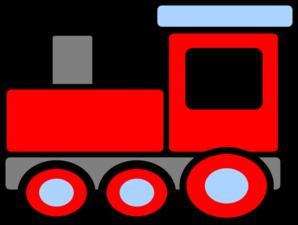 298x225 Cohens Birthday Train Clip Art