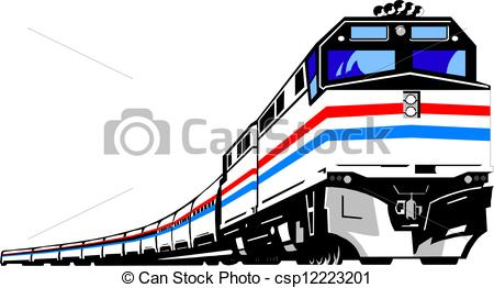 450x262 Lofty Trains Clipart Train With Conductor Locomotive Caboose Cute