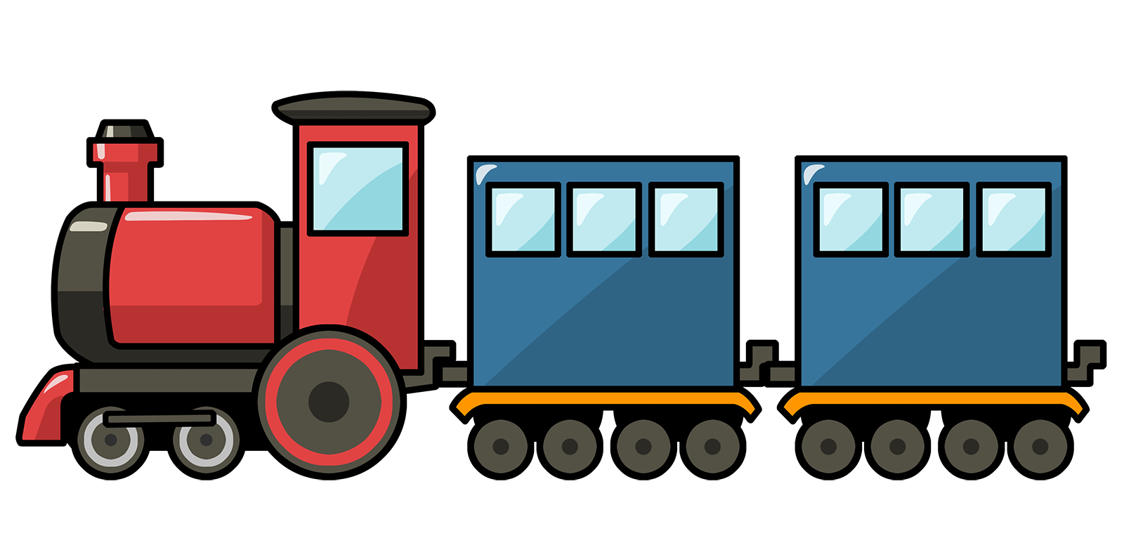 1600x783 Train Clipart Images