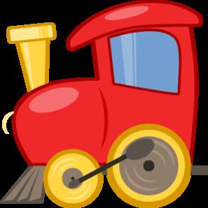 297x298 Loco Train Clip Art
