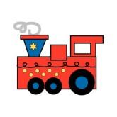 165x165 Train Crash Clipart