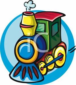 268x300 A Toy Train Engine