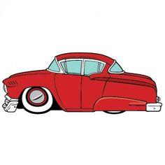 236x236 Car Clipart, Classic Car Clip Art, Sports Car Clipart, 1960