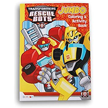 350x350 Transformers Rescue Bots Coloring And Activity Book