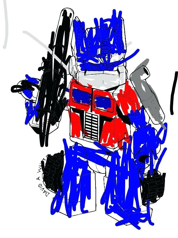 600x800 Coloring For Kids Optimus Prime Coloring Page Image Transformers 4