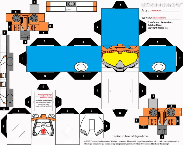 Transformers Rescue Bots Colouring