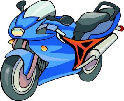 425x346 Motorcycle Clip Art Vector Download