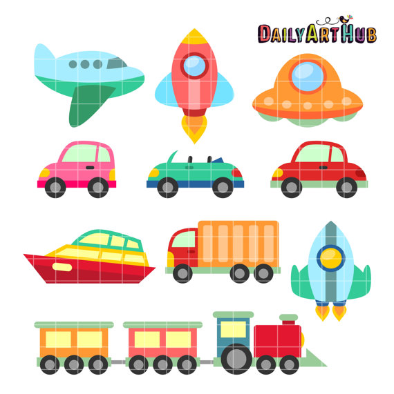 570x571 Vehicles Clip Art Mobile Transport Clipart Air Water Land