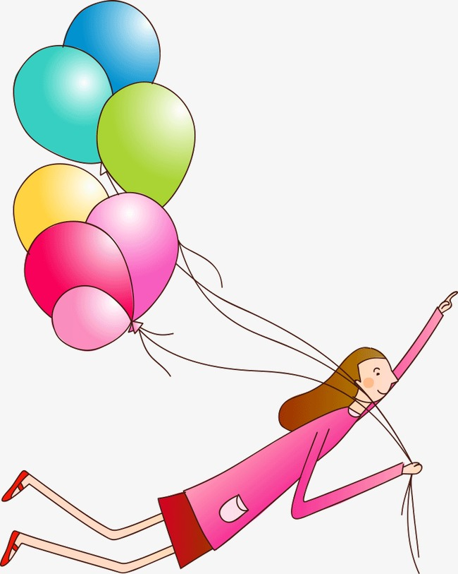 650x813 Balloon Flying, Balloon, Trapeze, Cartoon Png Image And Clipart