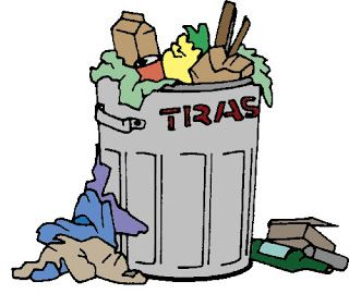 320x270 Fancy Ideas Garbage Clipart Fly And Trash Clip Art Image