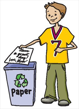 254x350 Recycle Free Recycling And Trash Clipart Graphics Images 2